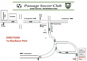 Passage AFC - Directions to Maulbaun