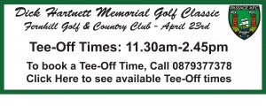 Tee Off Time Contact